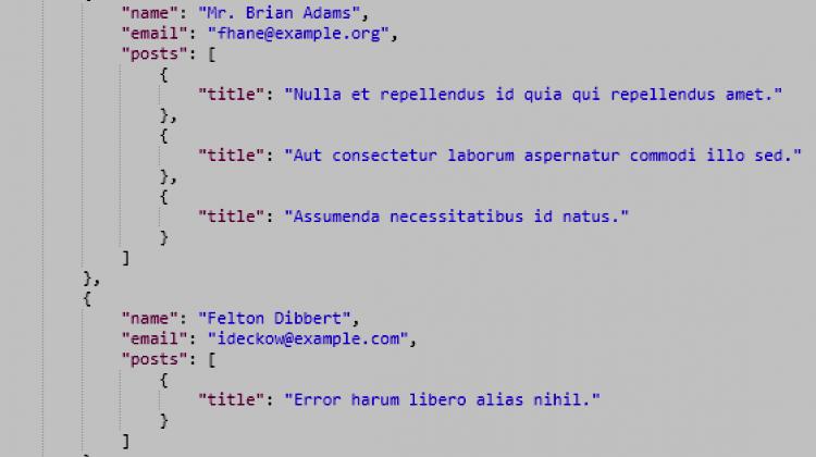 Первые впечатления о Laravel API Resources