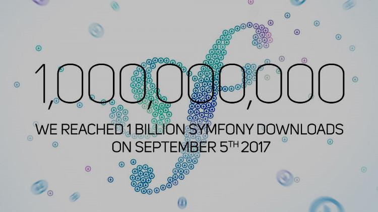 The Symfony Unicorn: 1 миллиард загрузок