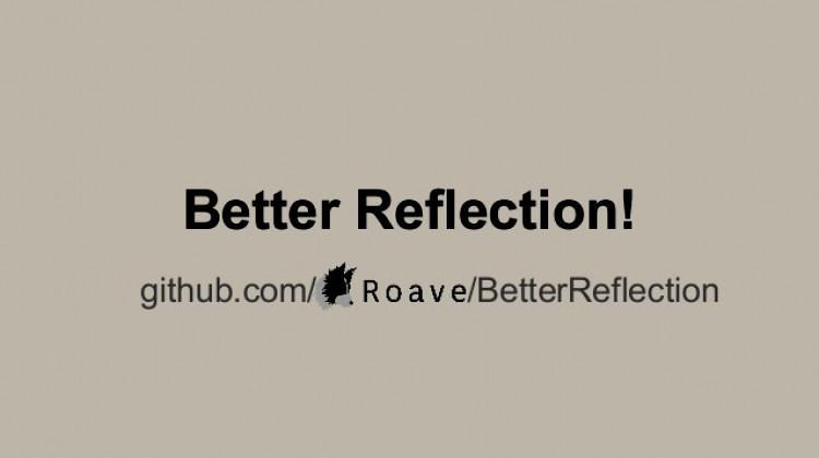 Релиз BetterReflection 2.0.0